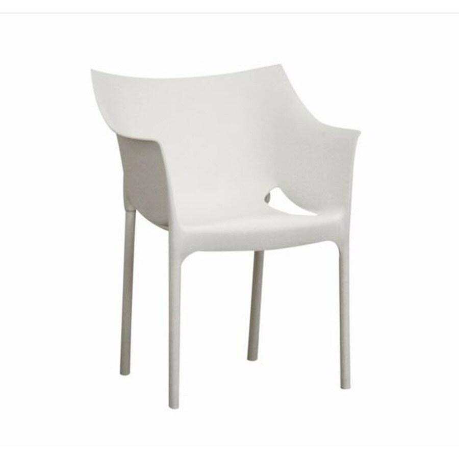 Baxton Studio Set of 2 White Side Chairs