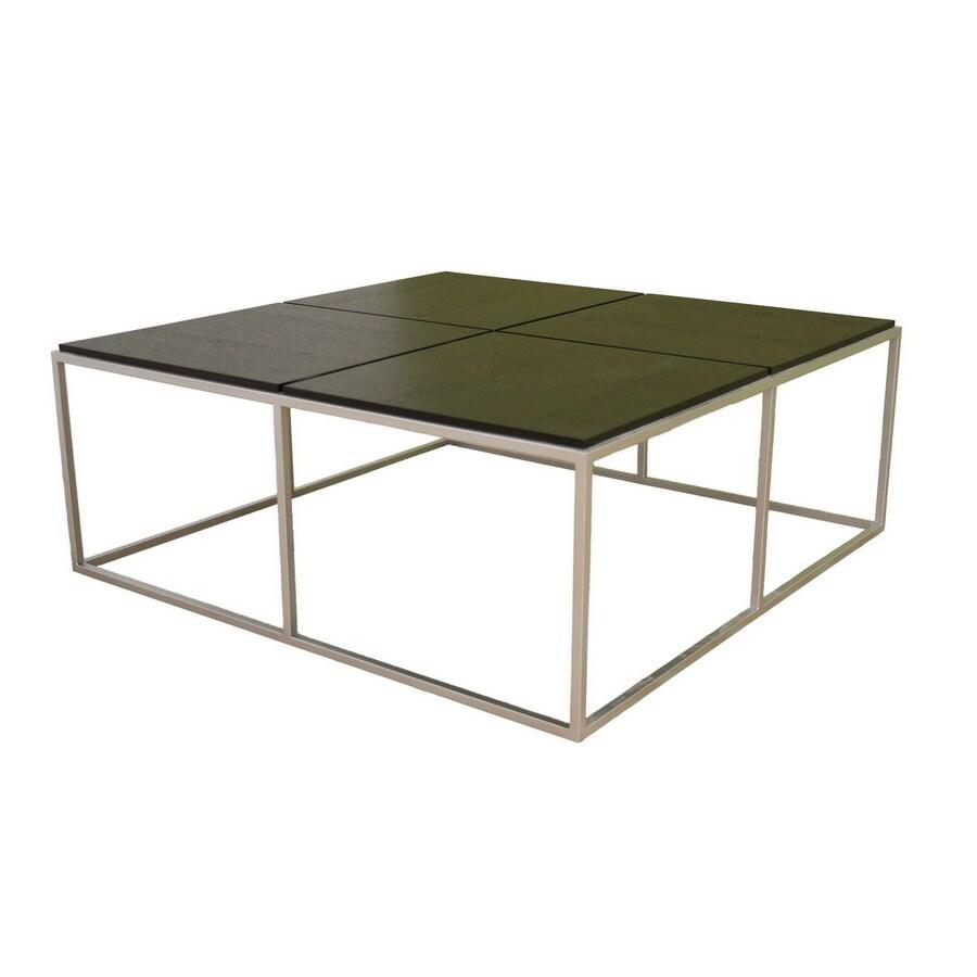Shop Baxton Studio Black Composite Square Coffee Table At