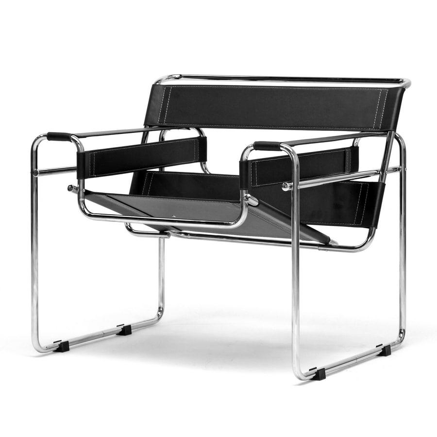 Baxton Studio Brown Club Chair