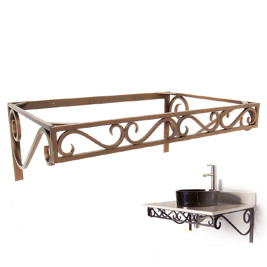 Shop D Vontz 12 In H Pedestal Sink Base At Lowes Com