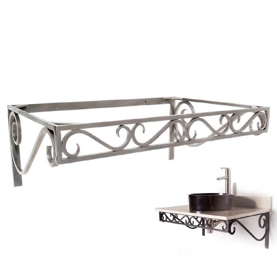 D'Vontz 12-in H Pedestal Sink Base