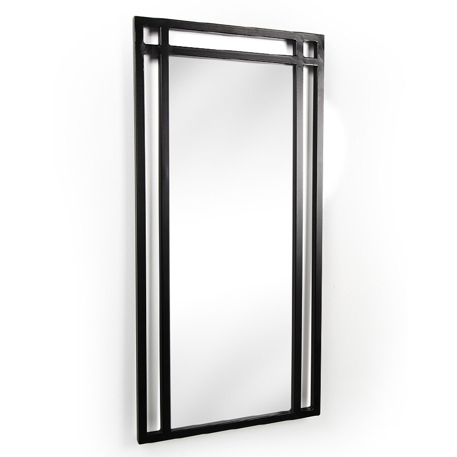 D'Vontz 18-in W x 36-in H Bathroom Mirror