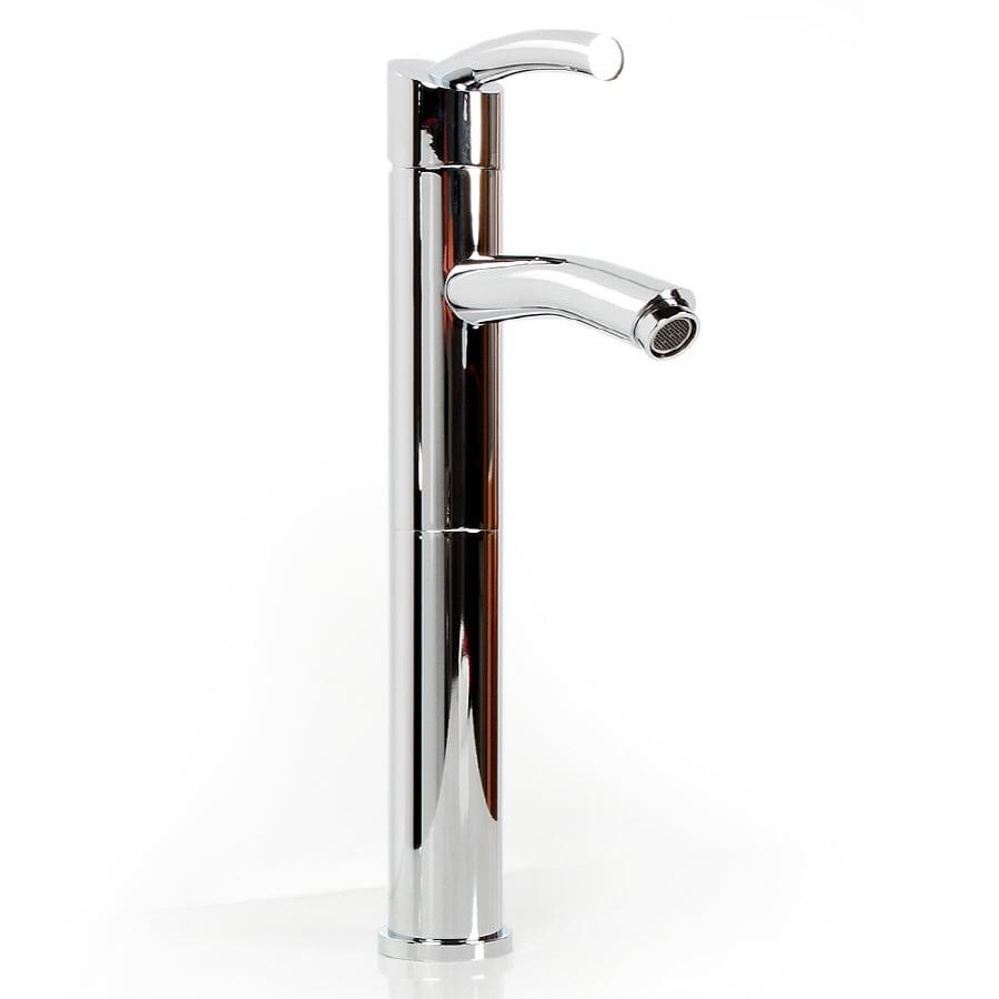 D'Vontz Baccus Polished Chrome 1-Handle Single Hole Bathroom Faucet