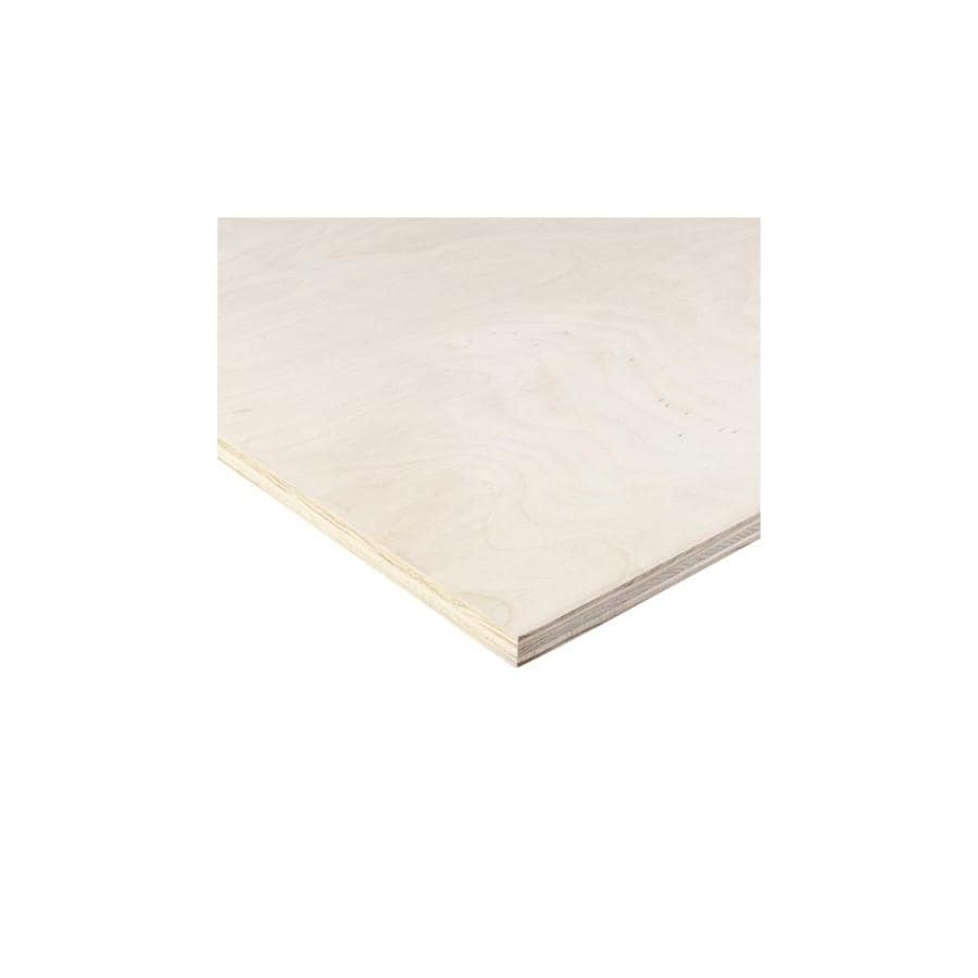 Top Choice Hardwood Sanded Plywood (Actual: 0.47-in x 48-in x 96-in)