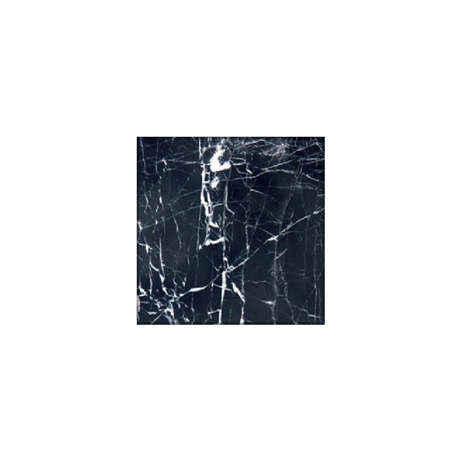 HTO 5-Pack 12-in x 12-in China Black Floor Tile