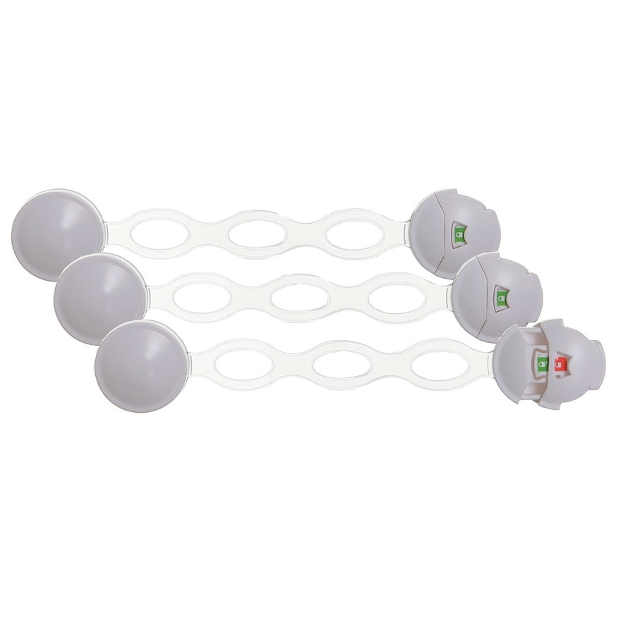 Dreambaby 3-Pack Ezy-Chec Adhesive Multi-Purpose Latch
