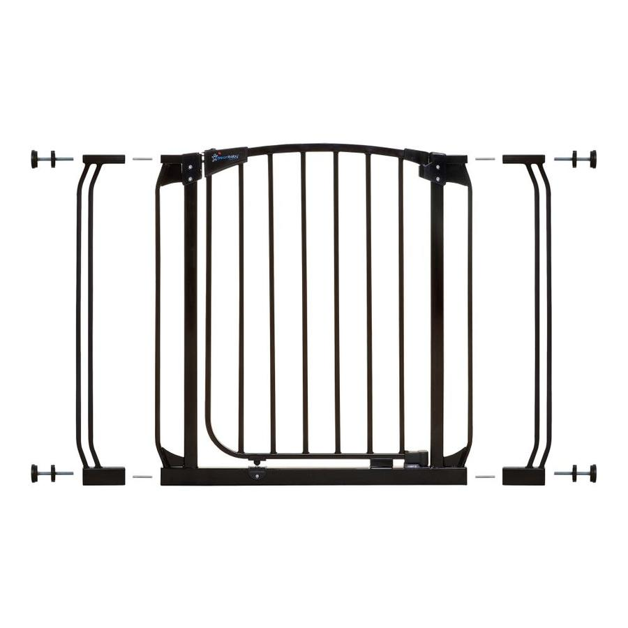 Dreambaby Chelsea Auto-Close 39-in x 29.5-in Black Metal Child Safety Gate