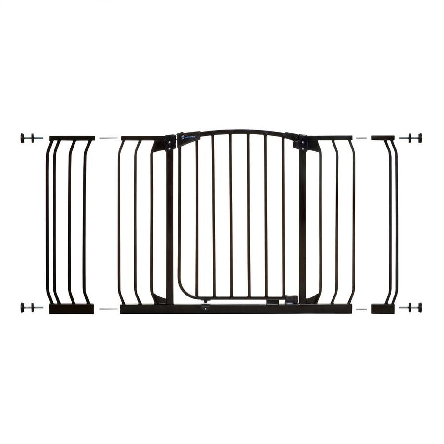 Dreambaby Chelsea Auto-Close 53-in x 29.5-in Black Metal Child Safety Gate