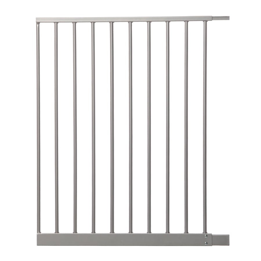 Dreambaby Empire Magnetic EZY-Check Auto-Close with Stay-Open Feature 22-in x 29.5-in Silver Metal Child Safety Gate