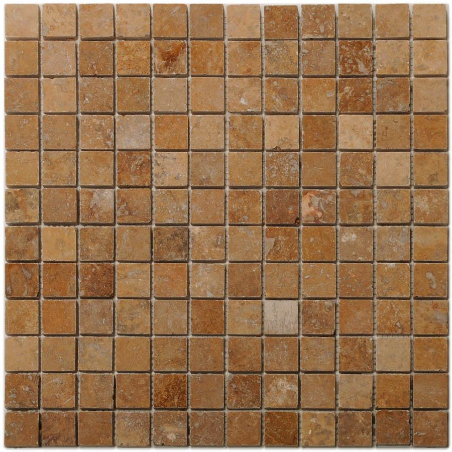 Big Pacific 12-in x 12-in Noce Travertine Floor Tile