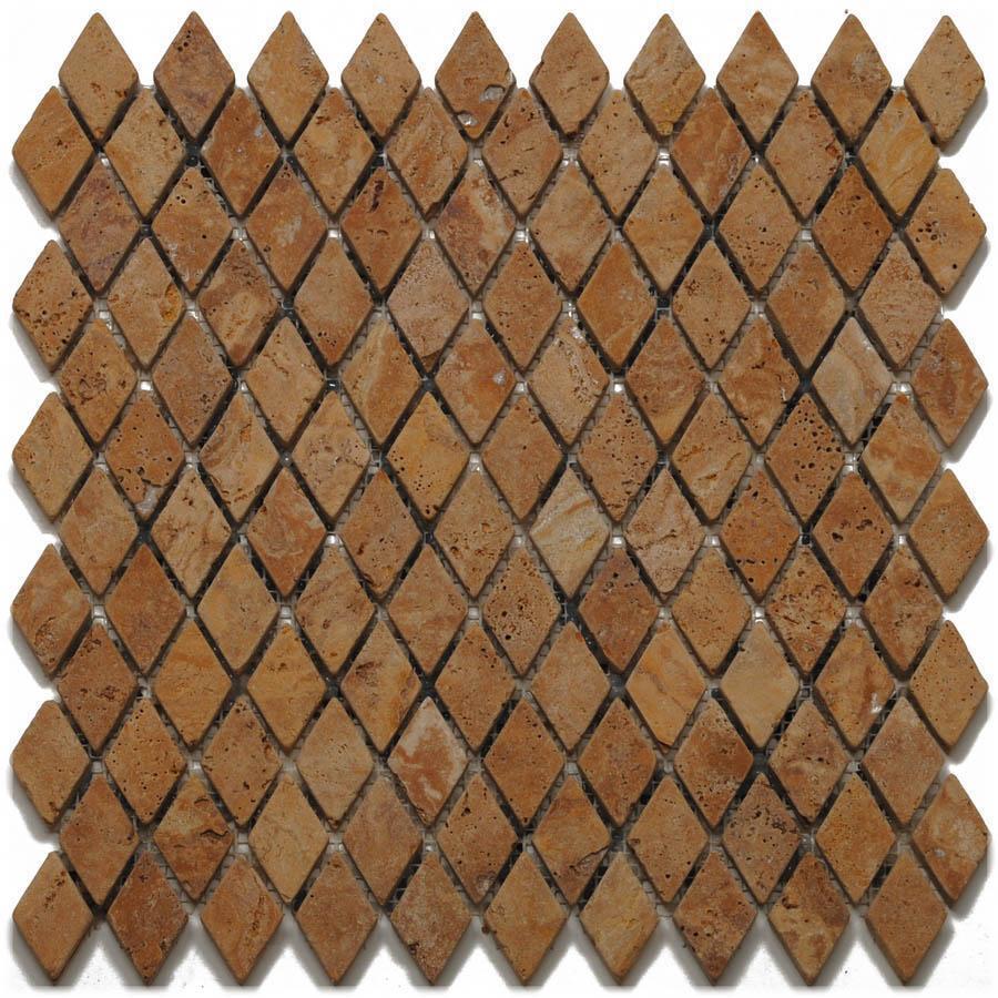 Big Pacific 12-in x 12-in Golden Sienna Travertine Floor Tile