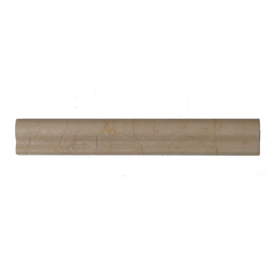 Big Pacific 1-3/4-in x 12-in Crema Marfil Marble Wall Tile