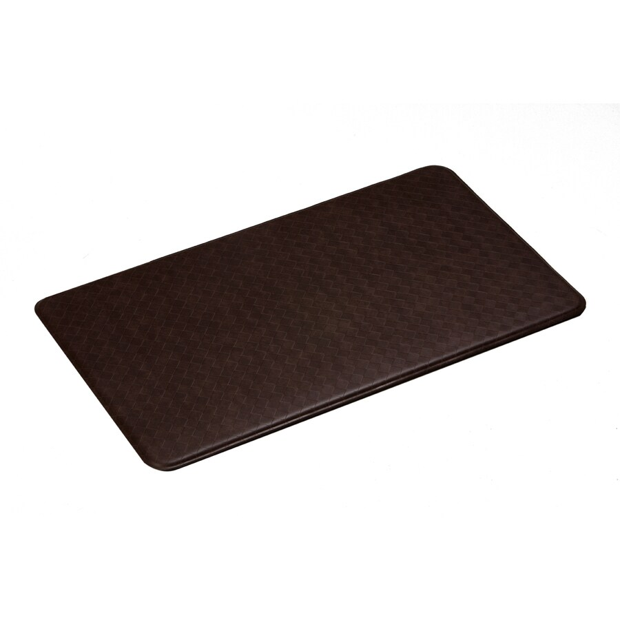 Imprint Cinnamon Anti-Fatigue Mat (Common: 2-ft x 6-ft; Actual: 26-in x 72-in)