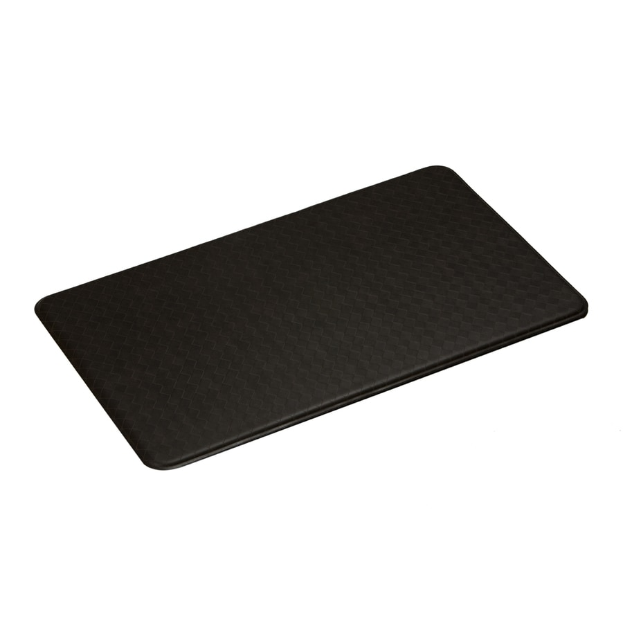 Imprint Espresso Anti-Fatigue Mat (Common: 2-ft x 6-ft; Actual: 26-in x 72-in)