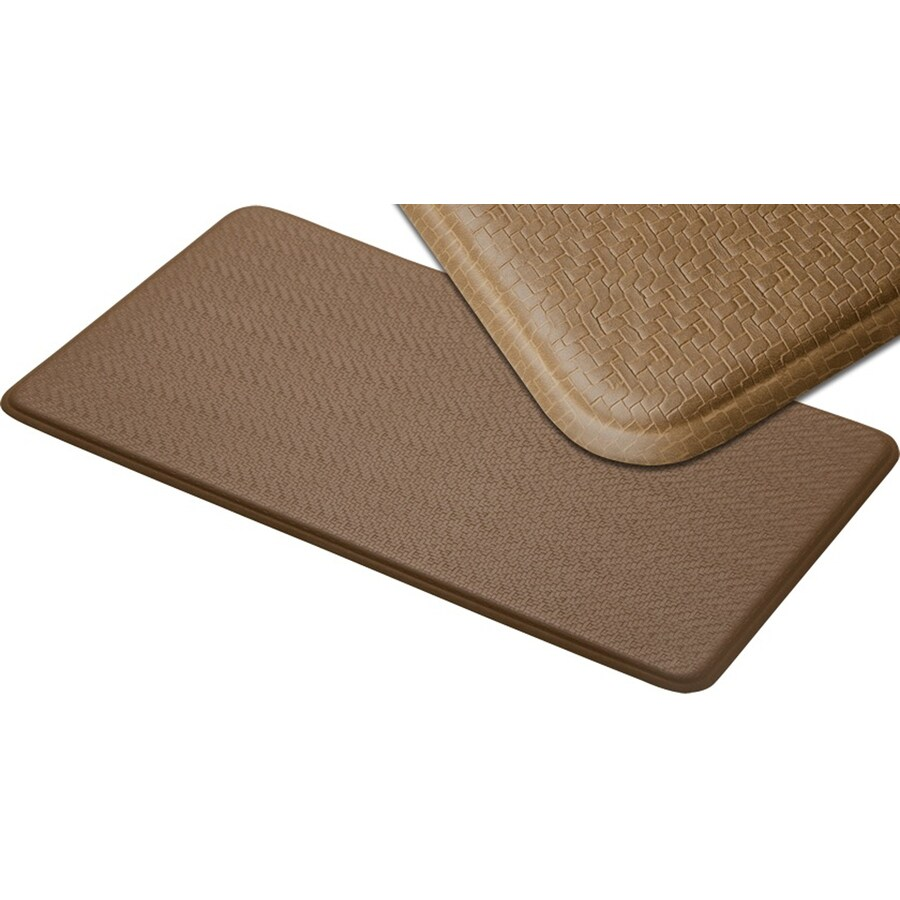 "Imprint 20""W x 36""L Latte Anti-Fatigue Mat"