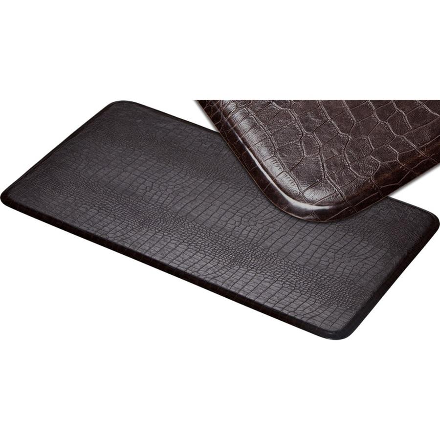 Imprint Cajun Toffee Anti-Fatigue Mat (Common: 2-ft x 6-ft; Actual: 26-in x 72-in)