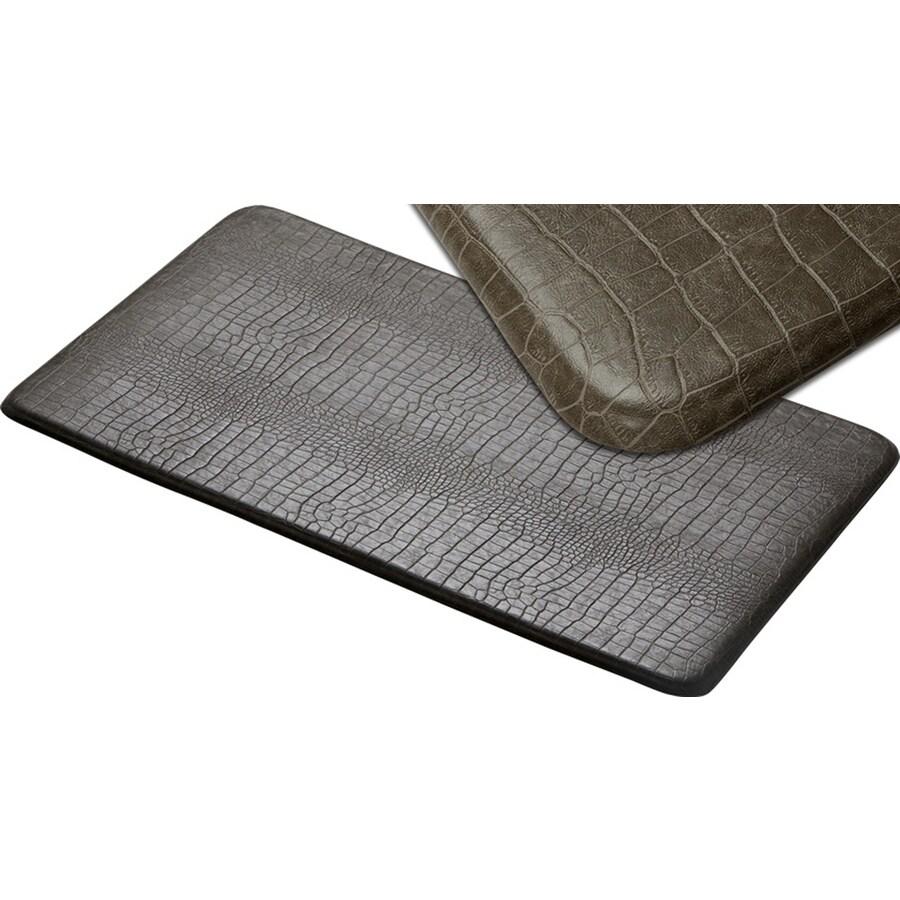 Imprint 26-in W x 72-in L Stone Anti-Fatigue Mat