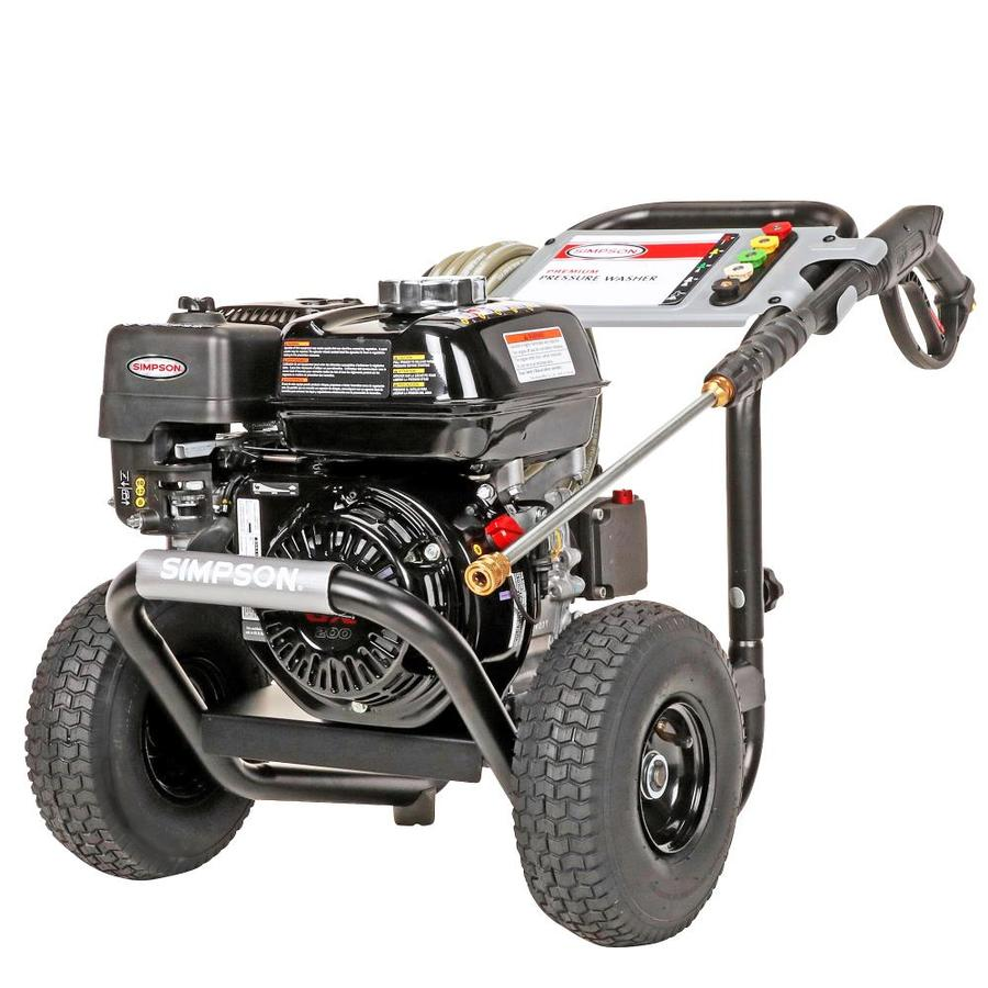 SIMPSON 3,200-PSI 2.8-GPM Water Gas Pressure Washer
