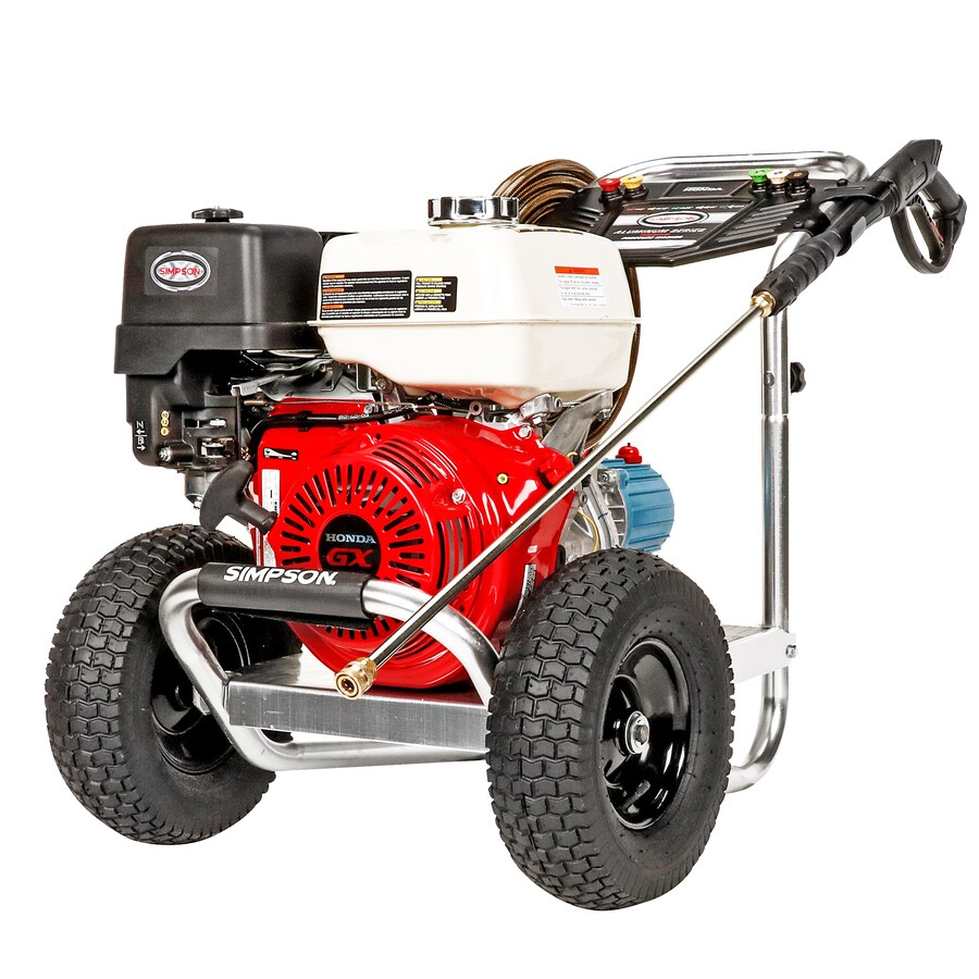 SIMPSON Aluminum 4200-PSI 4 Gallons-Gpm Water Gas Pressure Washer Carb Compliant