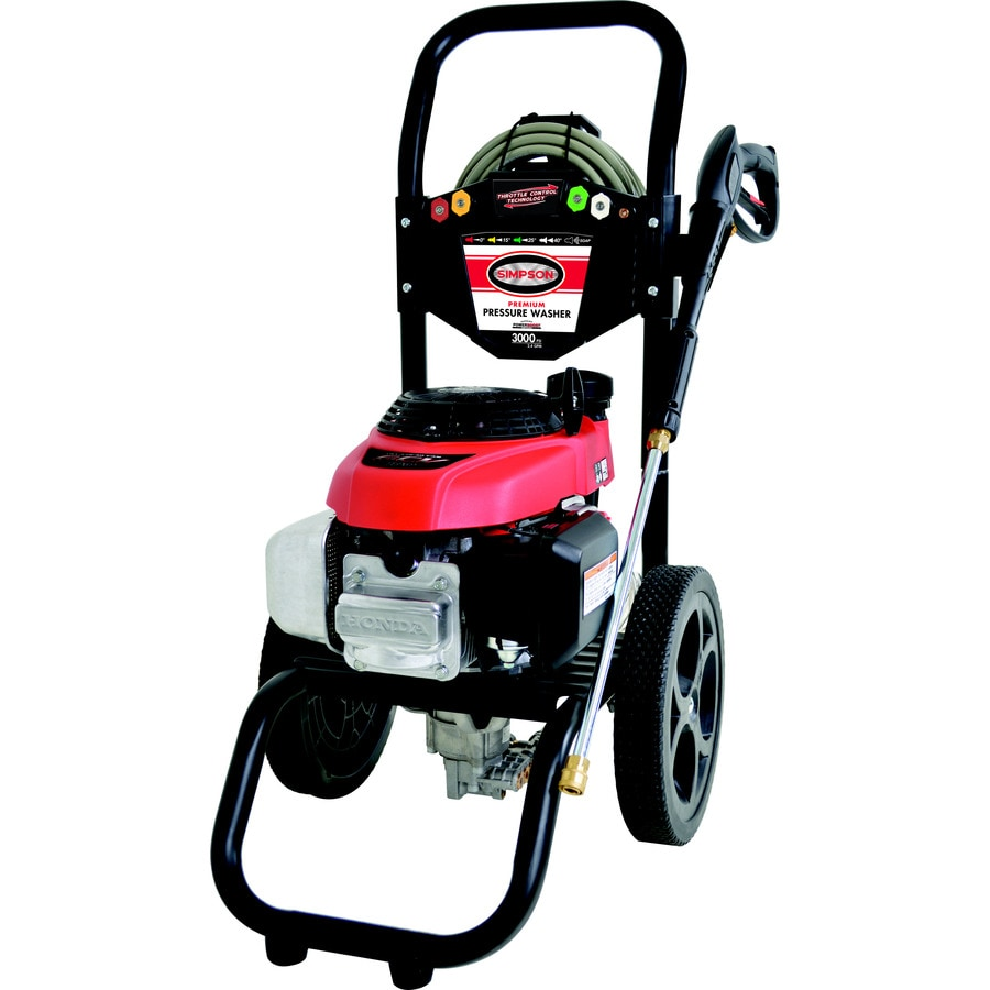 SIMPSON Mega Shot 3000-PSI 2.4-GPM Carb Compliant Cold Water Gas Pressure Washer