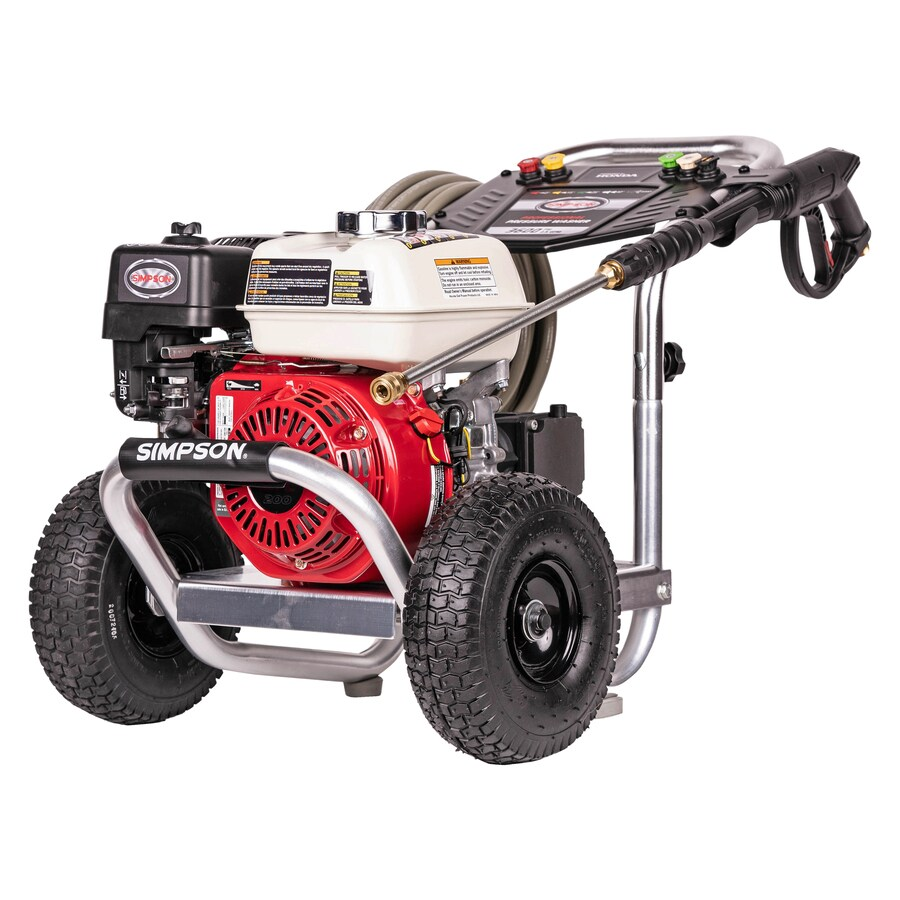 SIMPSON Aluminum 3400-PSI 2.5 Gallons-Gpm Cold Water Gas Pressure Washer Carb Compliant