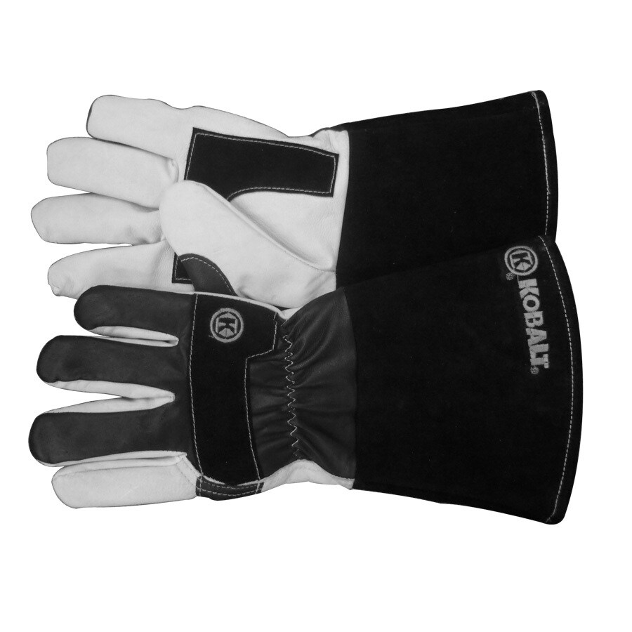 Kobalt Black/White Welding Gloves