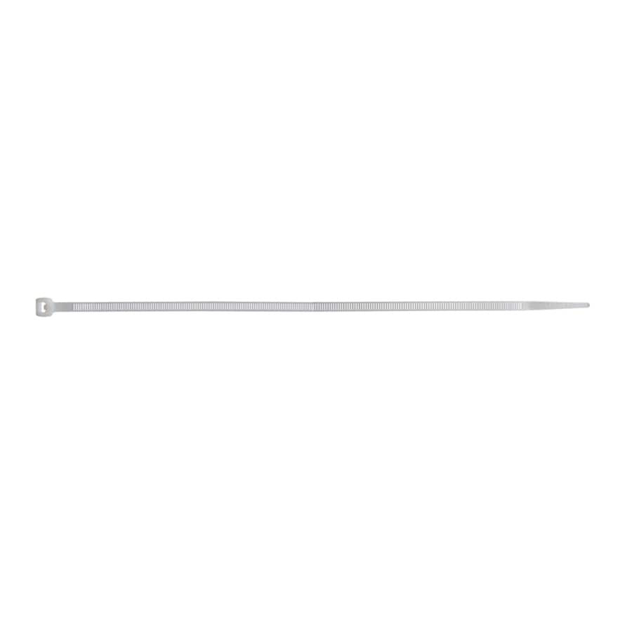 Utilitech 100-Pack 14-in Nylon Cable Ties