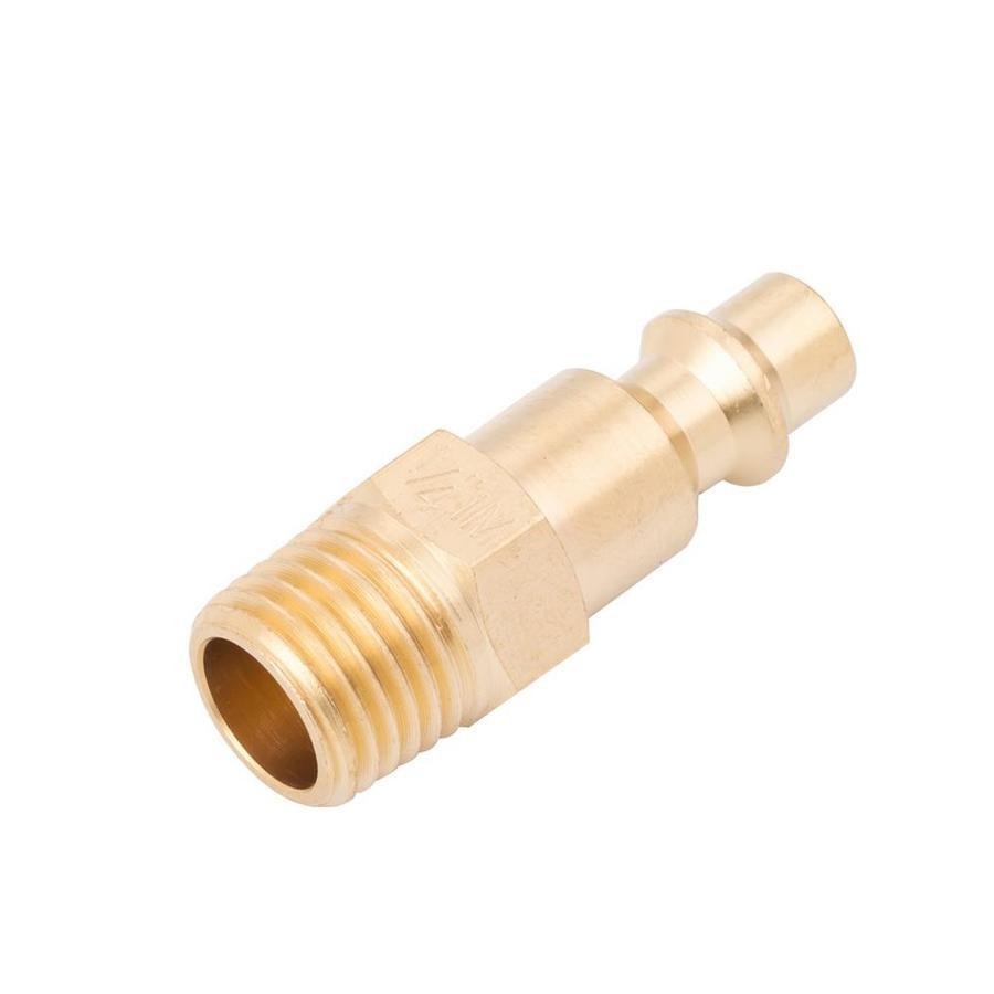 Kobalt Brass NPT Plug (M)-1/4-in Industrial