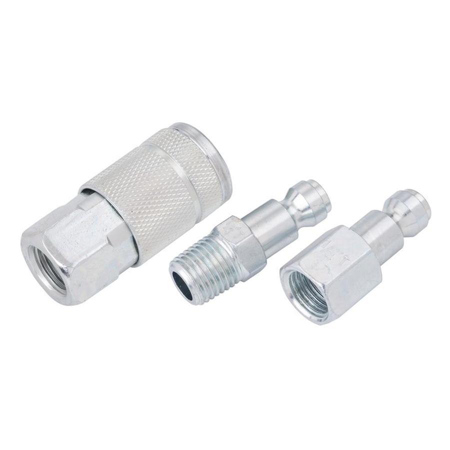 Kobalt NPT Coupler/Plug Kit 1/4-in Automotive