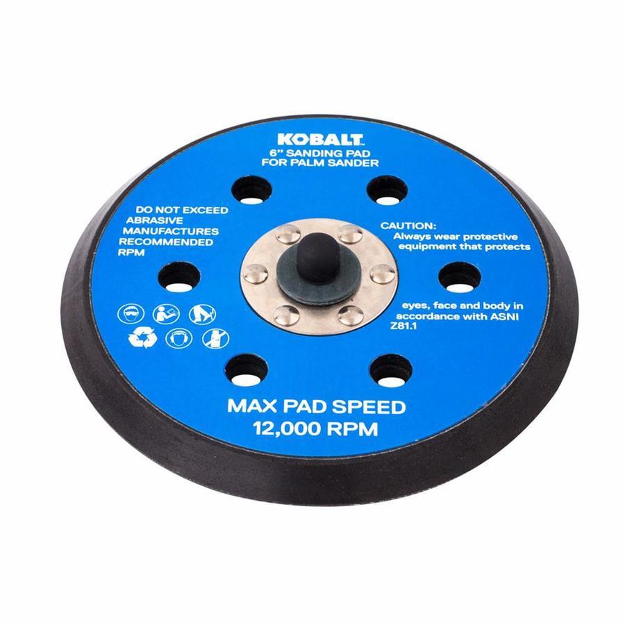 Kobalt 6-in Sanding Pad for Palm Sander