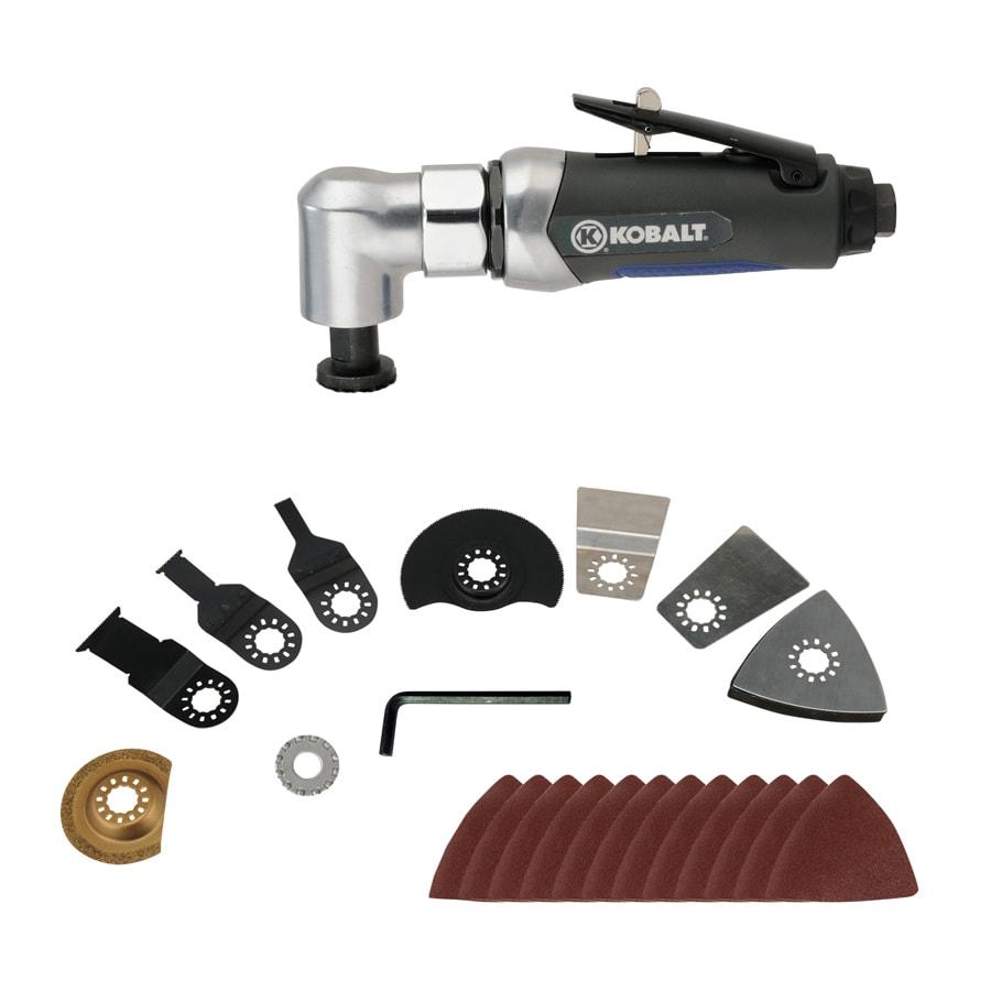 Shop Kobalt 22 Piece 1 Speed 90 Psi Air Oscillating Tool