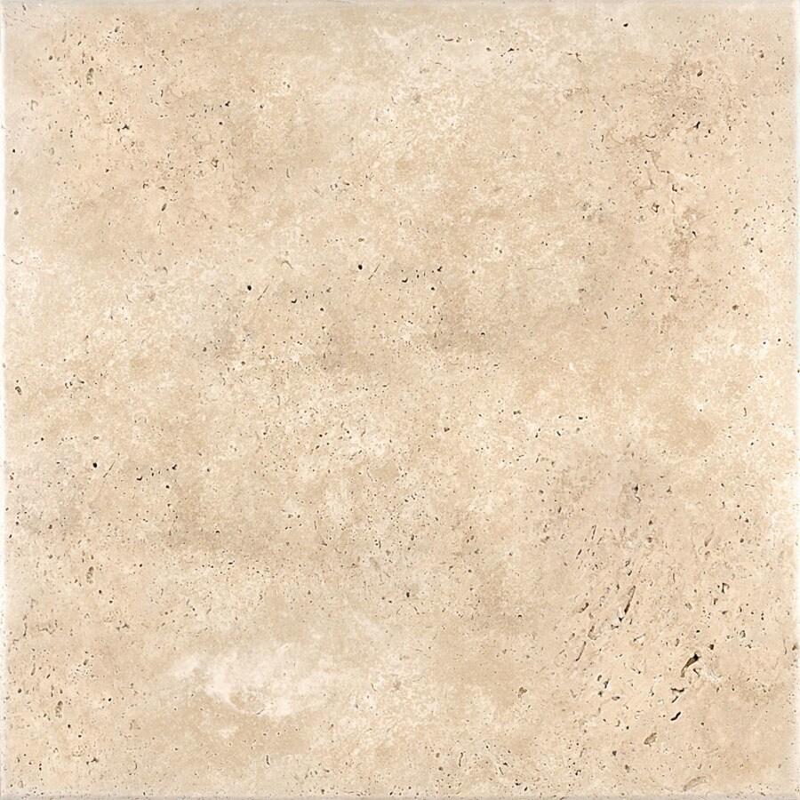 Shop Bermar Natural Stone Ivory Antiqued Travertine Floor