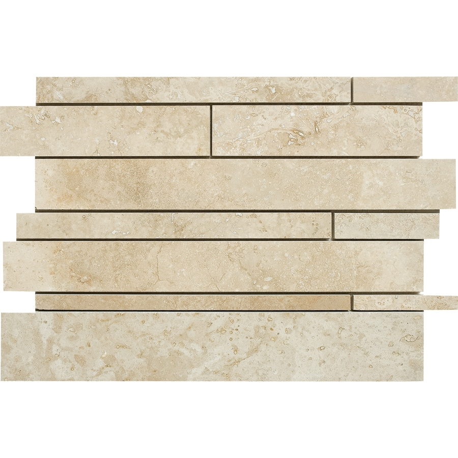 Marble Systems 5-Pack NBS Canyon Natural Stone Mosaic  Wall Tile (Common: 12-in x 12-in; Actual: 12-in x 12-in)