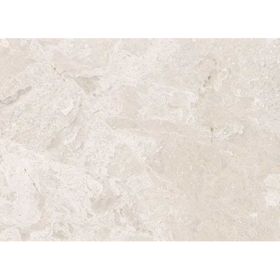 Bermar Natural Stone Royal Beige Polished Marble Floor and Wall Tile (Common: 12-in x 24-in; Actual: 12-in x 24-in)