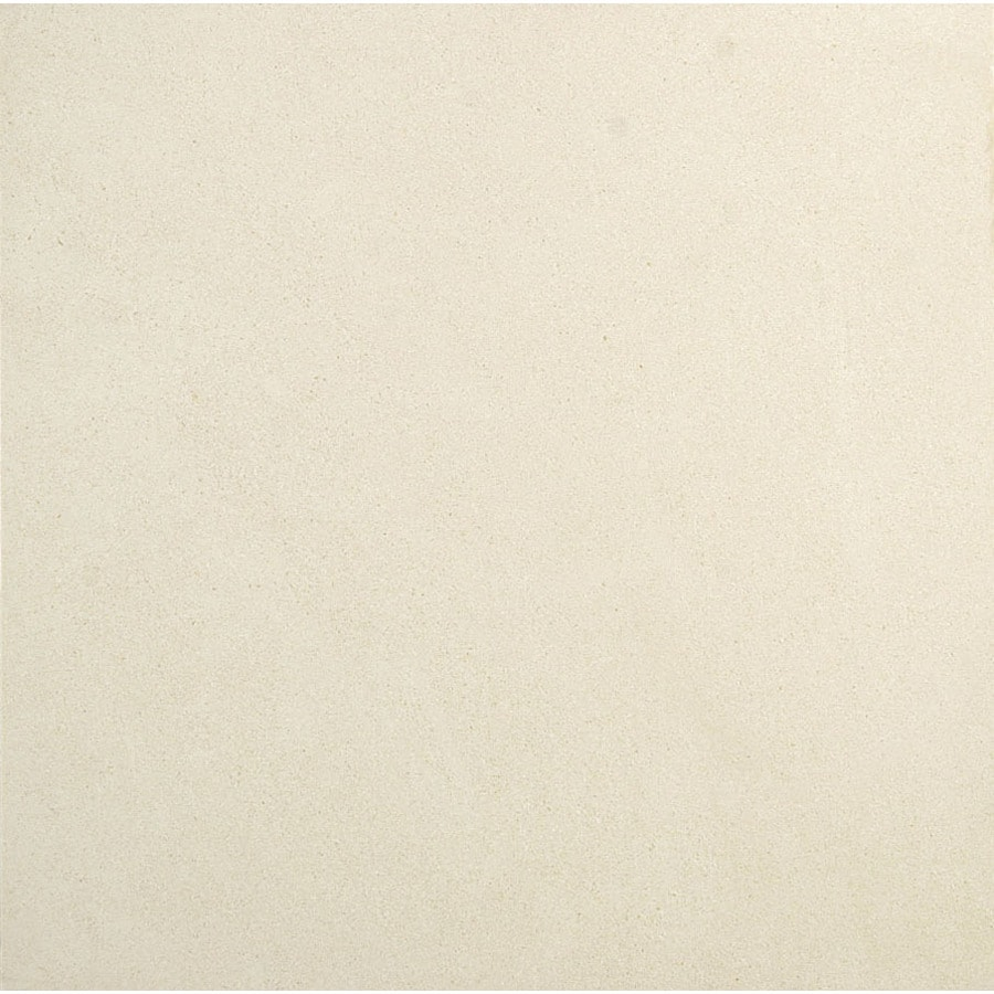 Bermar Natural Stone Cottonwood Honed Limestone Floor and Wall Tile (Common: 24-in x 24-in; Actual: 24-in x 24-in)