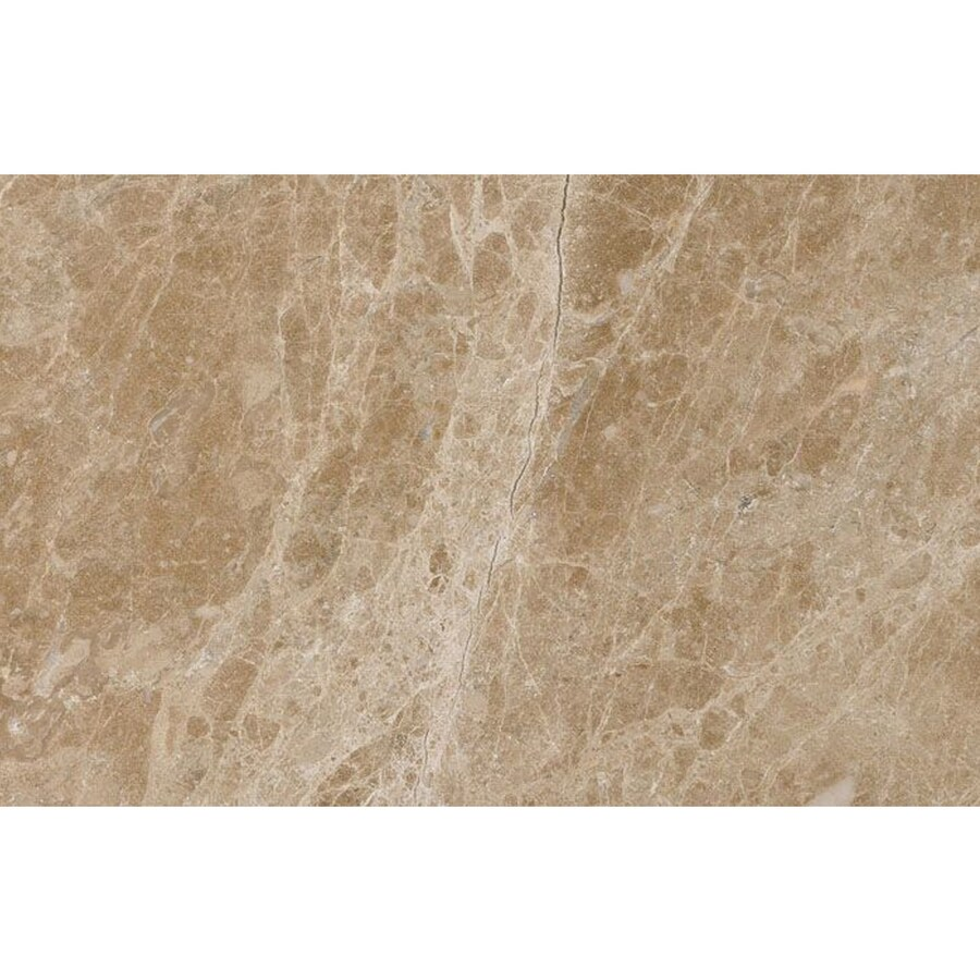 Shop Bermar Natural Stone Emperador Light Polished Marble Floor And Wall Tile Common 3 In X 6