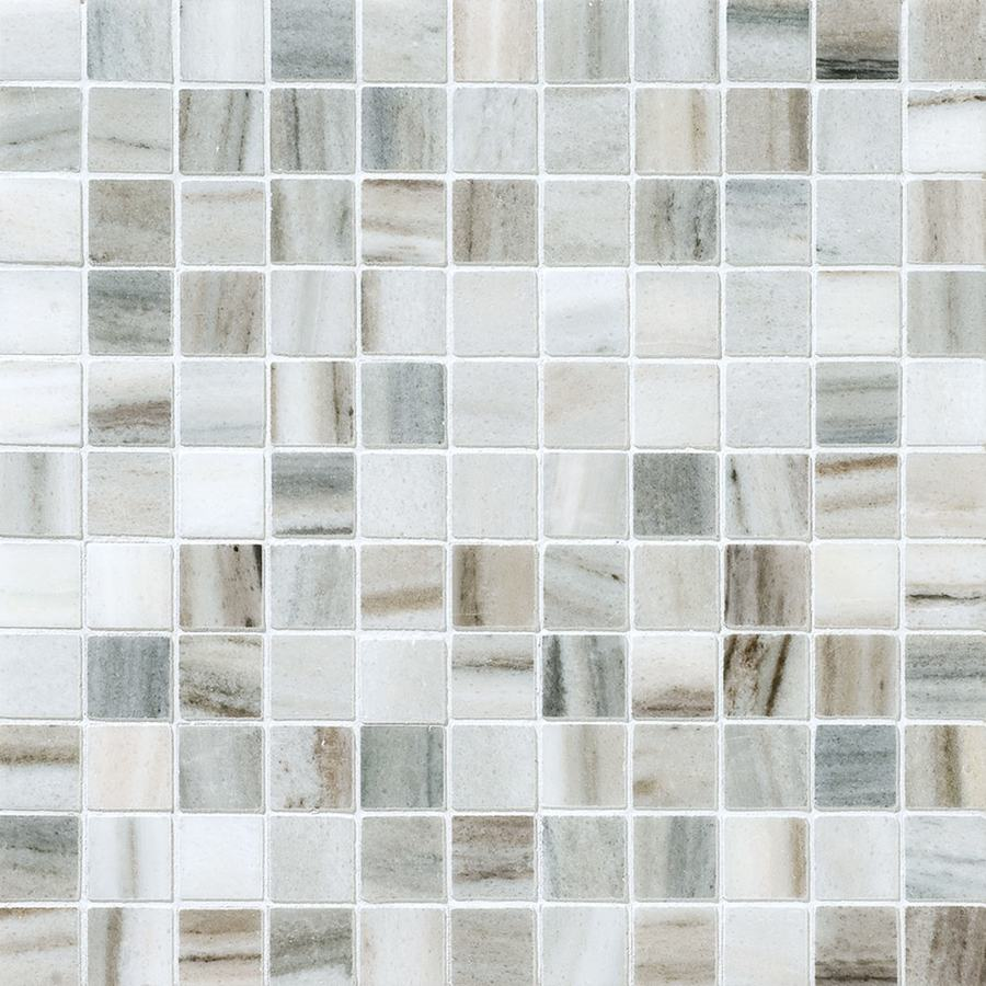 Shop Bermar Natural Stone Palermo Blend Polished Marble Floor And Wall Tile Common 12 In X 12