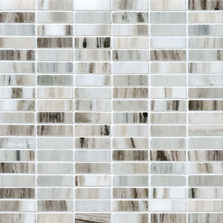 Bermar Natural Stone Palermo Blend Polished Marble Floor and Wall Tile (Common: 12-in x 12-in; Actual: 12-in x 12-in)