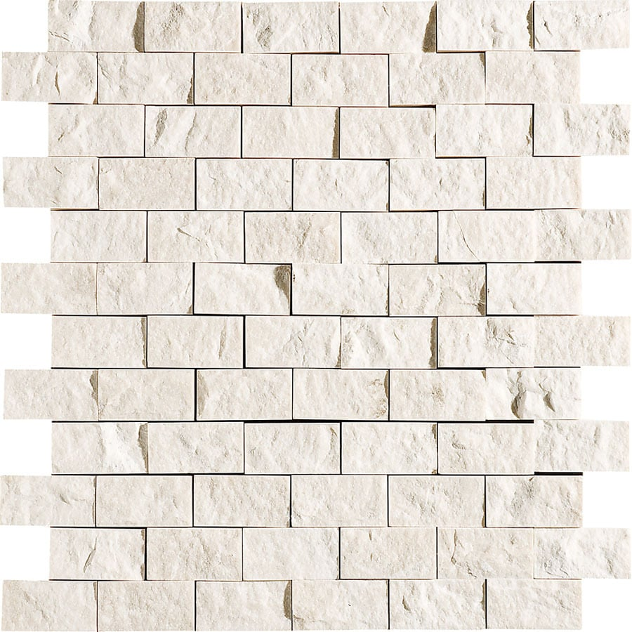 Bermar Natural Stone Oasis Rock Face Marble Floor and Wall Tile (Common: 12-in x 12-in; Actual: 11.75-in x 12-in)