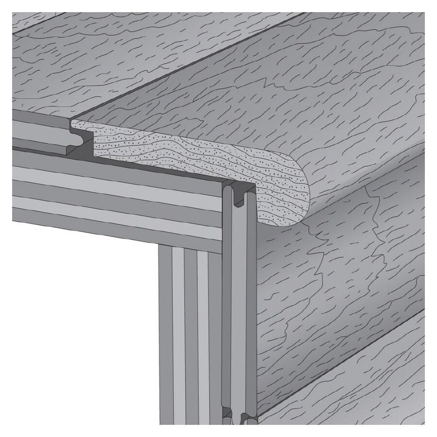 LM Flooring 2.75-in x 78-in Fireside Stair Nose Floor Moulding