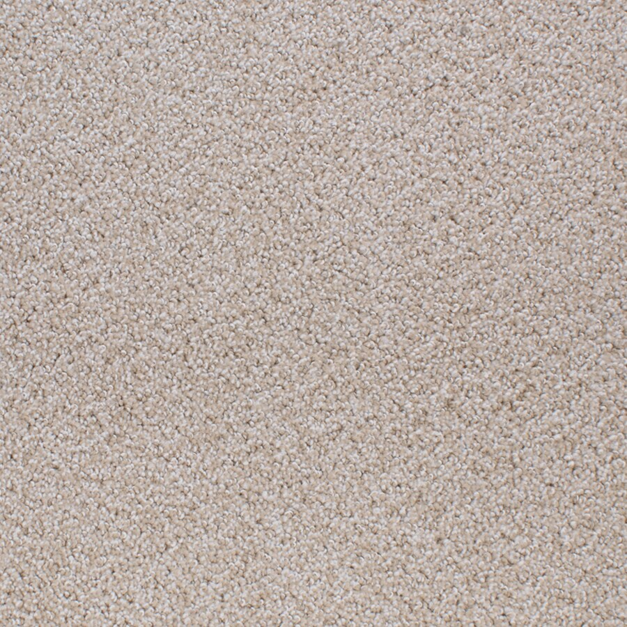 STAINMASTER Active Family Oak Grove Cream/Beige/Almond Cut and Loop Indoor Carpet