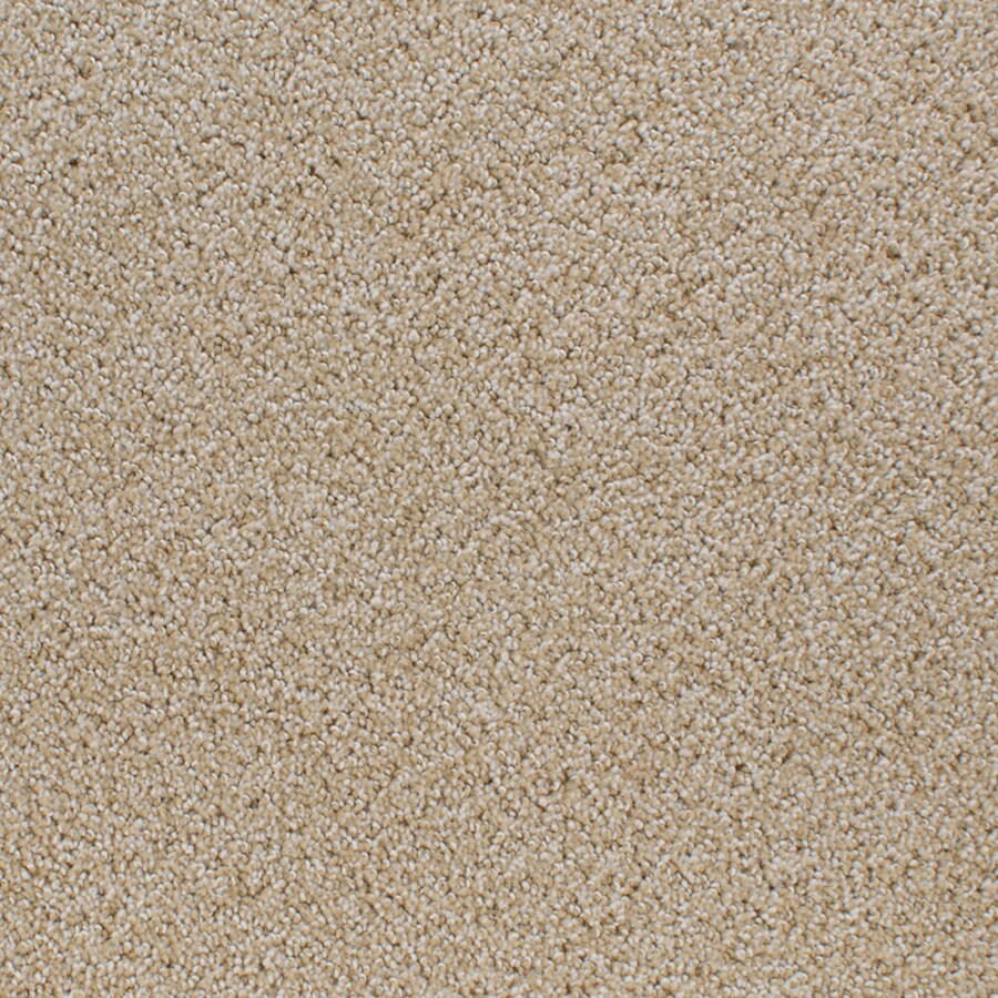 STAINMASTER Active Family Oak Grove Yellow/Gold Cut and Loop Indoor Carpet