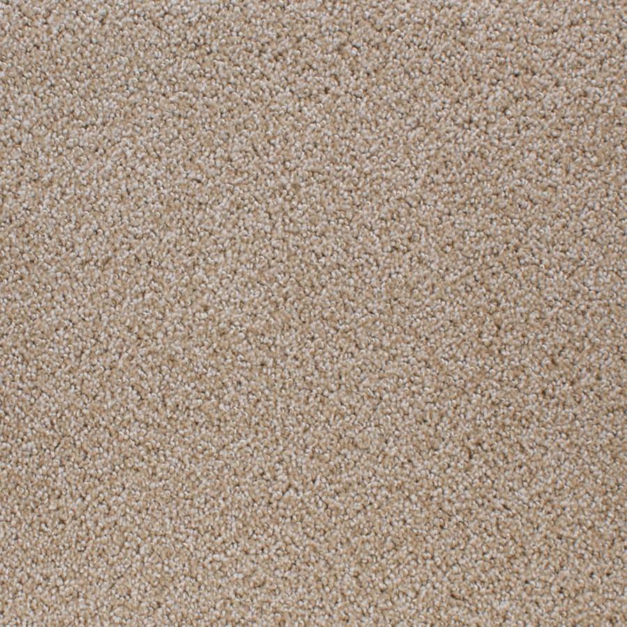 STAINMASTER Active Family Oak Grove Brown/Tan Cut and Loop Indoor Carpet