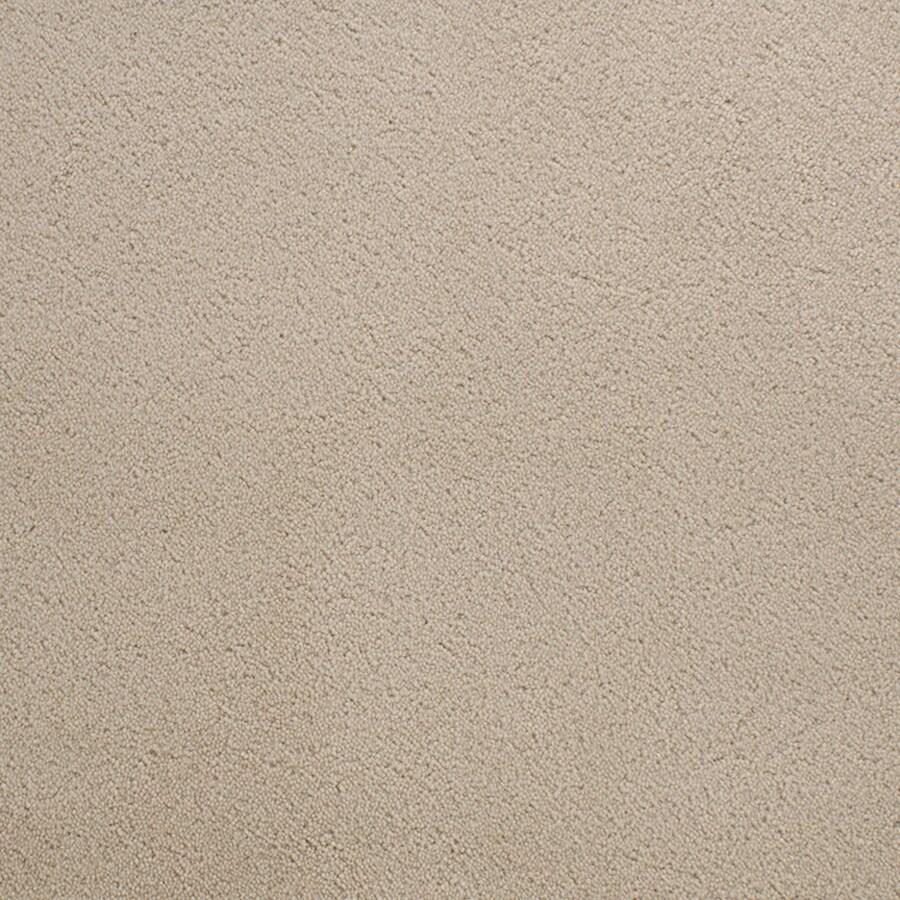 STAINMASTER Active Family Capri Place Cream/Beige/Almond Plush Indoor Carpet