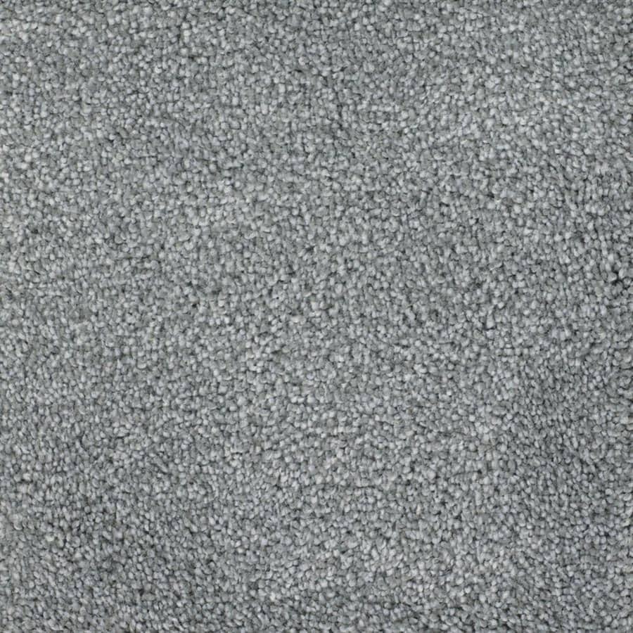 STAINMASTER TruSoft Briar Patch Blue Textured Indoor Carpet