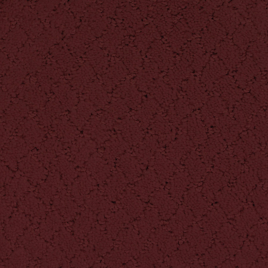 STAINMASTER TruSoft Galesburg Red/Pink Cut and Loop Indoor Carpet