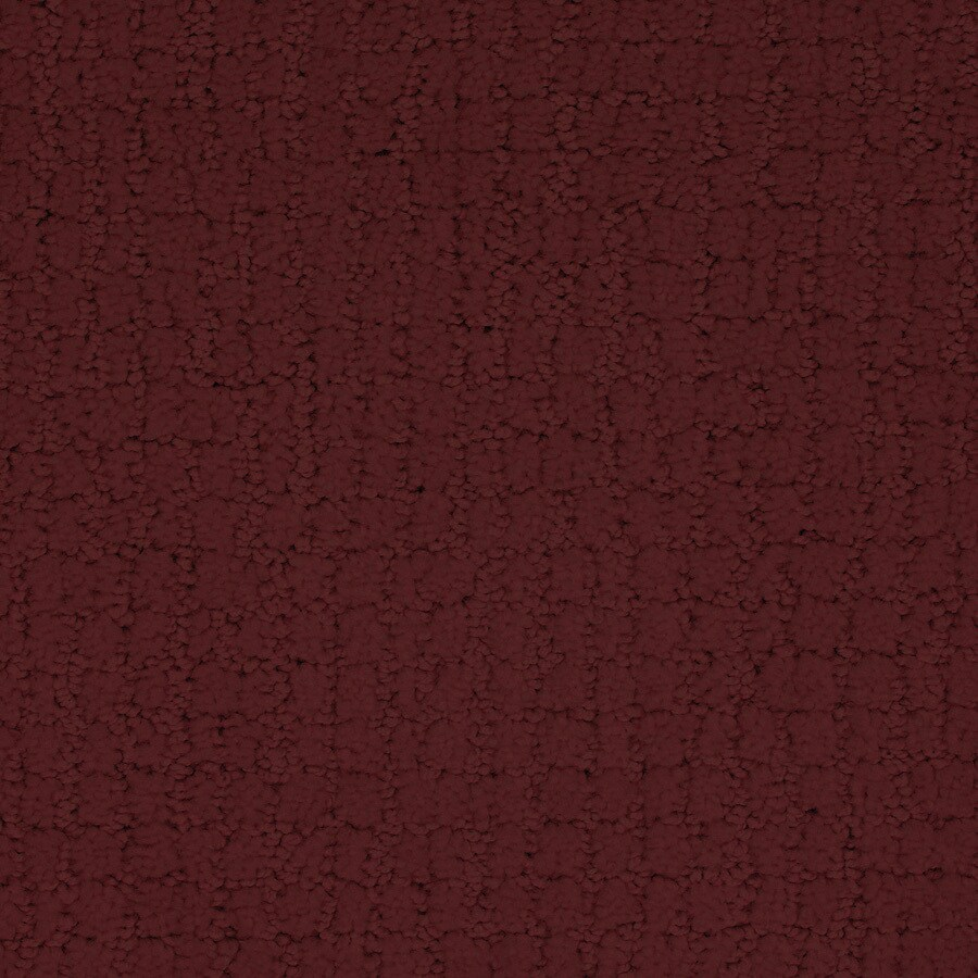 STAINMASTER TruSoft Perpetual Red/Pink Cut and Loop Indoor Carpet