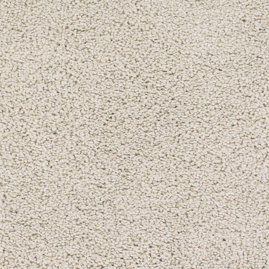 Shop STAINMASTER TruSoft Chimney Rock Cream/Beige/Almond Textured Indoor Carpet at Lowes.com