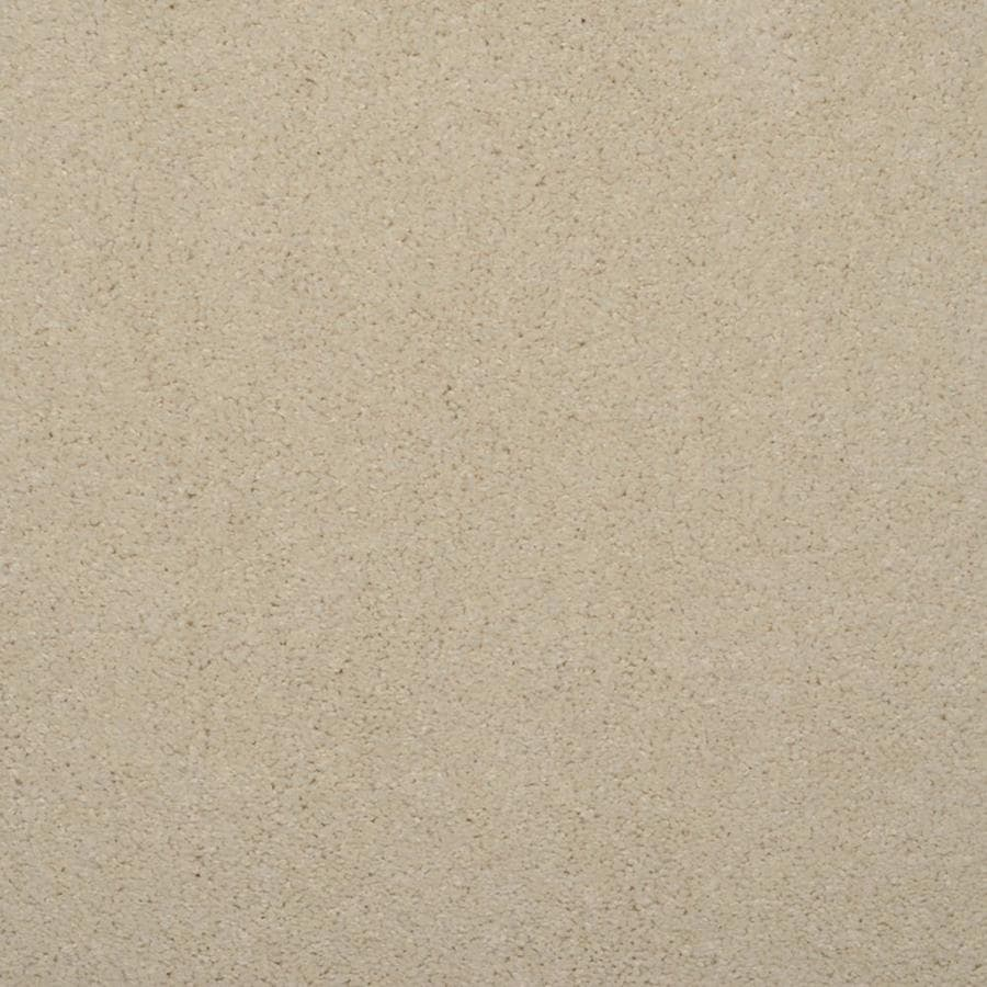 STAINMASTER TruSoft Luminosity Cream/Beige/Almond Textured Indoor Carpet