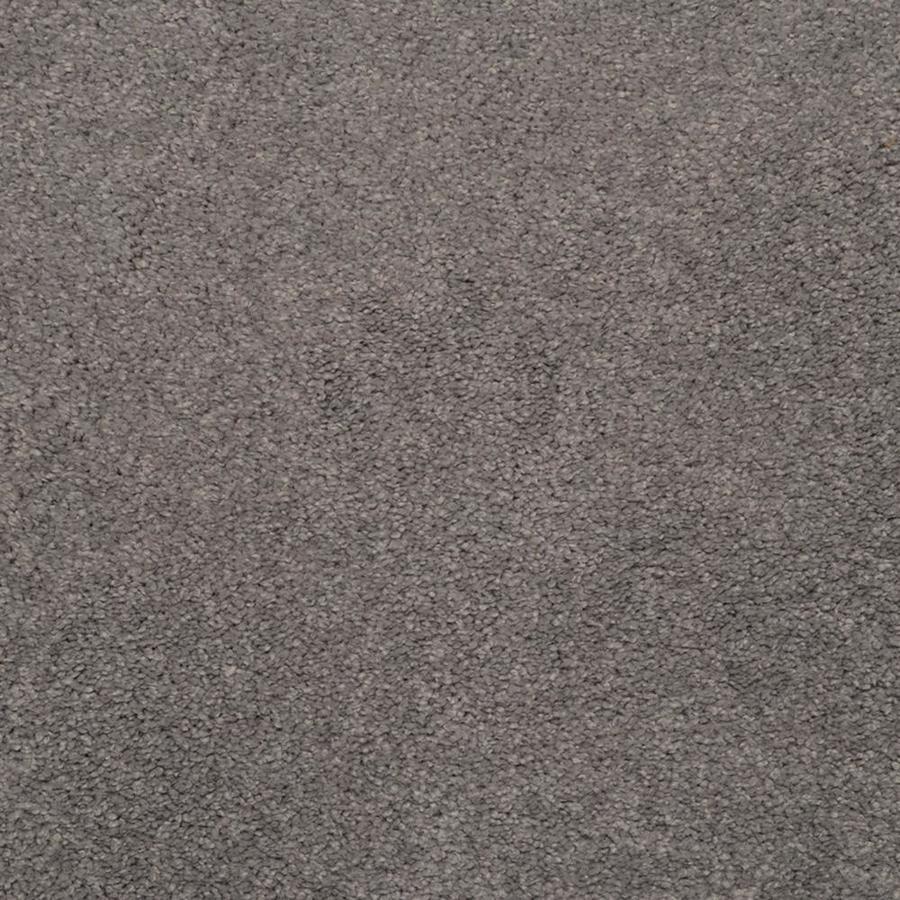 STAINMASTER TruSoft Luminosity Blue Textured Indoor Carpet